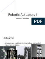 Robotic Actuator