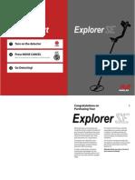 Explorer Xs Se Manual