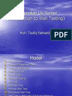 Modul I Uji Sumur