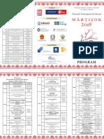 Program Martisor 2018