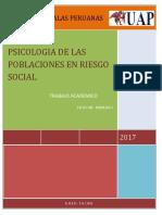 Trabajo de Riesgo Social 88888