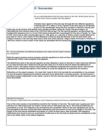 Sonometer Report Reflection