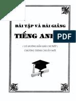 Bài tập và bài giảng tiếng anh 11 chương trình chuẩn