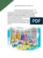 Marketing Mixing Produk Kecantikan Lux