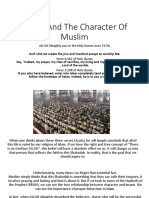 Imaan and the Character of Muslim