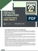 Guia para la presentación de Proyectos Fotográficos