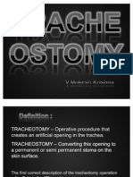 Tracheostomy by Mukesh