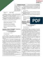 Aprueban Plan de Estrategia Publicitaria Institucional 2018 de la PCM