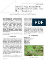 Diversity of Endophytic Fungi Associated With Tephrosia Purpurae From Eastern Ghats and the Coast of Bay of Bengal India 1