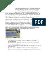 tennis ball acceleration