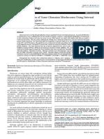 Molecular Identification of Some Ghanaian Mushrooms Using Internaltranscribed Spacer Regions