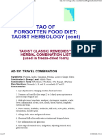 Tao of Forgotten Food Diet_ Taoist Herbology 2