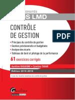 Exos LMD - Contrôle de Gestion 2015-2016