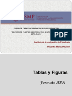 Taller APA - Tablas y Figuras
