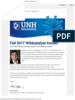Unhi Newsletter Issue18 Fall2017