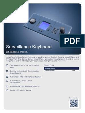 Surveillance-Keyboard Datasheet A4 | Computer Keyboard