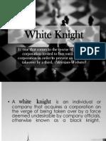 White Knight (M&a)