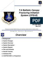 T-6 - Ballistic Canopy Fracturing Initiation System