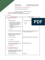 Deriving the Formula For the Volumenof Rectangular Prism
