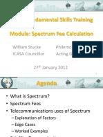 Spectrum Fees 20120228