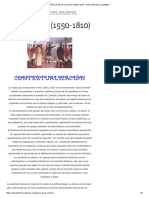 Época de La Colonia (1550-1810) – Historia de Colombia