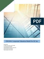 FIN2004 Report