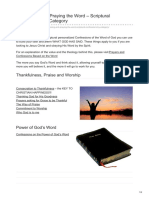 Christian-faith.com-Confessing and Praying the Word Scriptural Confessions by Category