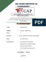 Psicologia Trabajo Monográfico UAP PUCALLPA