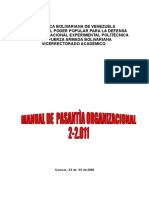 Manual de Pasantias ( Pasantes 2011-2012)