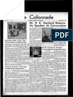 The Colonnade, September 23, 1961