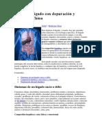 Cura Del Hígado Con Depuración y Medicina China