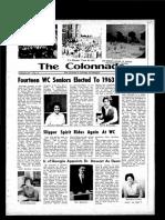 The Colonnade, November 22, 1963