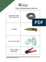 2 Materiales Para La Preparación de Cables Utp