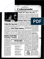 The Colonnade, October 30, 1964