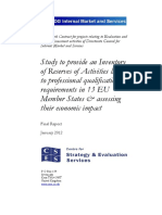 Study to provide an Inventory of Reserves of Activities linked to professional (2012).pdf