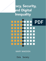 DataAndSociety_PrivacySecurityandDigitalInequality
