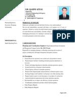 Engr Qasim CV-Planning