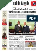 Jornal de Angola EDIÇÃO 7 DE FEVEREIRO