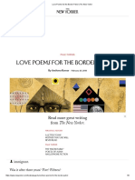 Immigration Amitava Kumar Love Poems for the Border Patrol _ the New Yorker Feb 25 2015