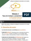 PPT 1.3.1. Propiedad Intelectual - Derechos de Autor