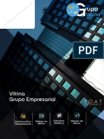 Brohure Grupo empresarial Vitrina S.A.S