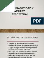 Organicidad y Madurez Perceptual1