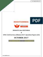 IOI October 2017