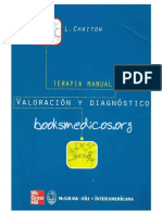 Portada Terapia Manual Valoracion y Dg