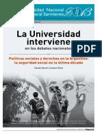 Danani y Hintze-politicas Sociales y Derechos