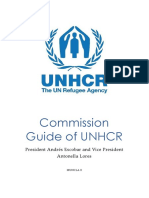 commission guide of unhcr