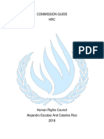 commission guide hrc