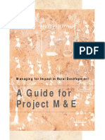 IFAD_A Guide for Project M&E - Managing for Impact in Rural Development