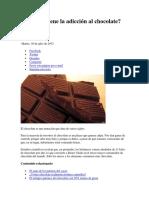De Dónde Viene La Adicción Al Chocolate