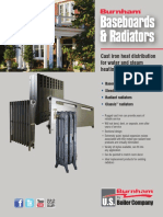 Radiator-Baseboard Product Data Sheet